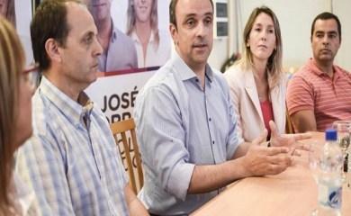 José Corral el candidato a Gobernador de Cambiemos en Santa Fe visitó San Genaro