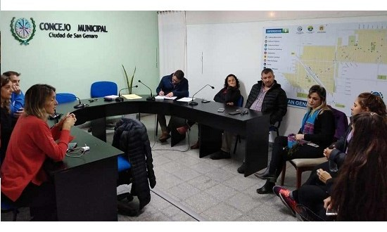 Crearán un taller social municipal en San Genaro