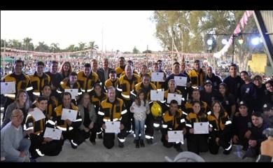 Exitosa convocatoria por el día del Bombero Voluntario en San Genaro
