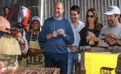Perotti avanza con propuestas de empleo y seguridad
