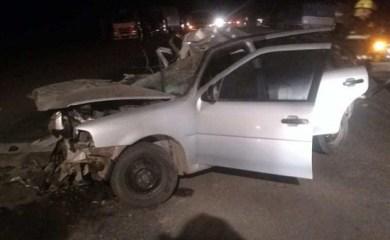 Fallece hombre de San Genaro tras accidente en cruce de Ruta 34 y 65