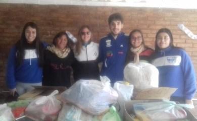 Sportivo Rivadavia y Atlético San Genaro unidos por la solidaridad
