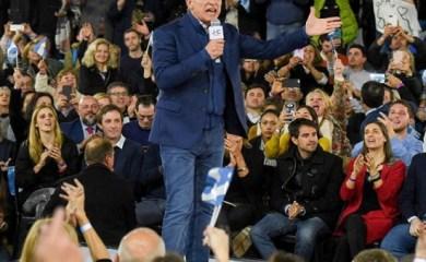 """Macri en Rosario: """"Ojalá que Dios me ilumine para saber cómo ayudar a todos los argentinos"""""""