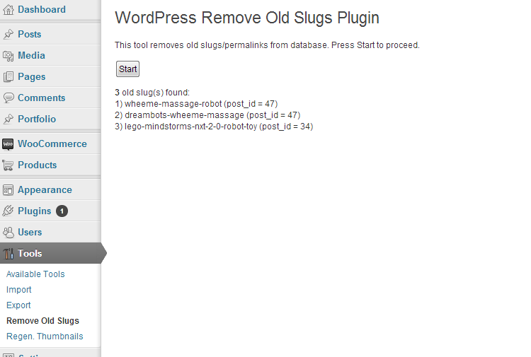 How To Remove Old Permalinks (Slugs) From WordPress Database ?