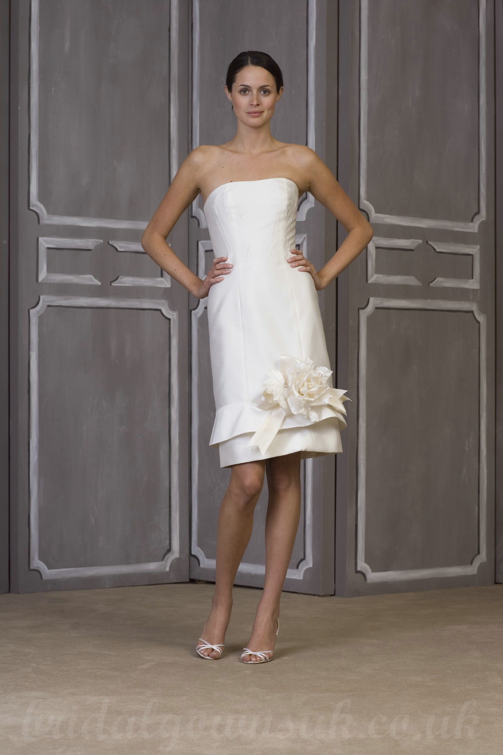 short fitted satin wedding dress inexpensive wedding dresses in Sexy and Sensual Short Fitted Wedding Dresses
