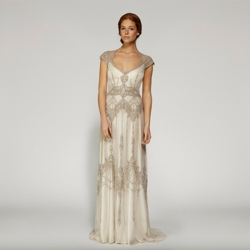 Beaded Vintage Wedding Dresses For Classy And Luxurious Look