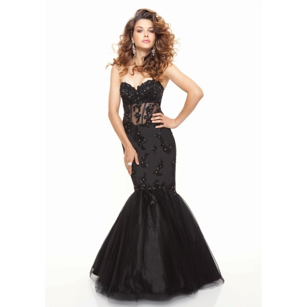 Black lace mermaid wedding dressessang maestro sang maestro for Black mermaid wedding dresses