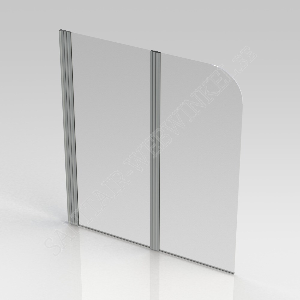 Bad Wand Glas Pannello Badwand 2 Delig 1200 X 1400 Mm