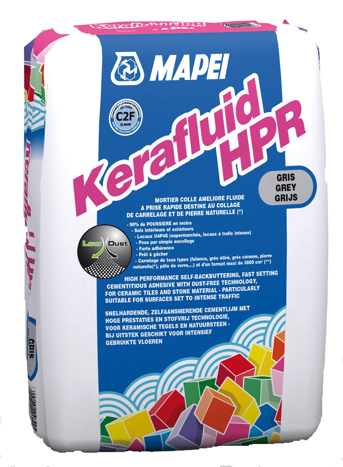 Mortier Colle Carrelage Exterieur Point P Mortier Colle Pour Le Carrelage C2 Kerafluid Hpr Mapei