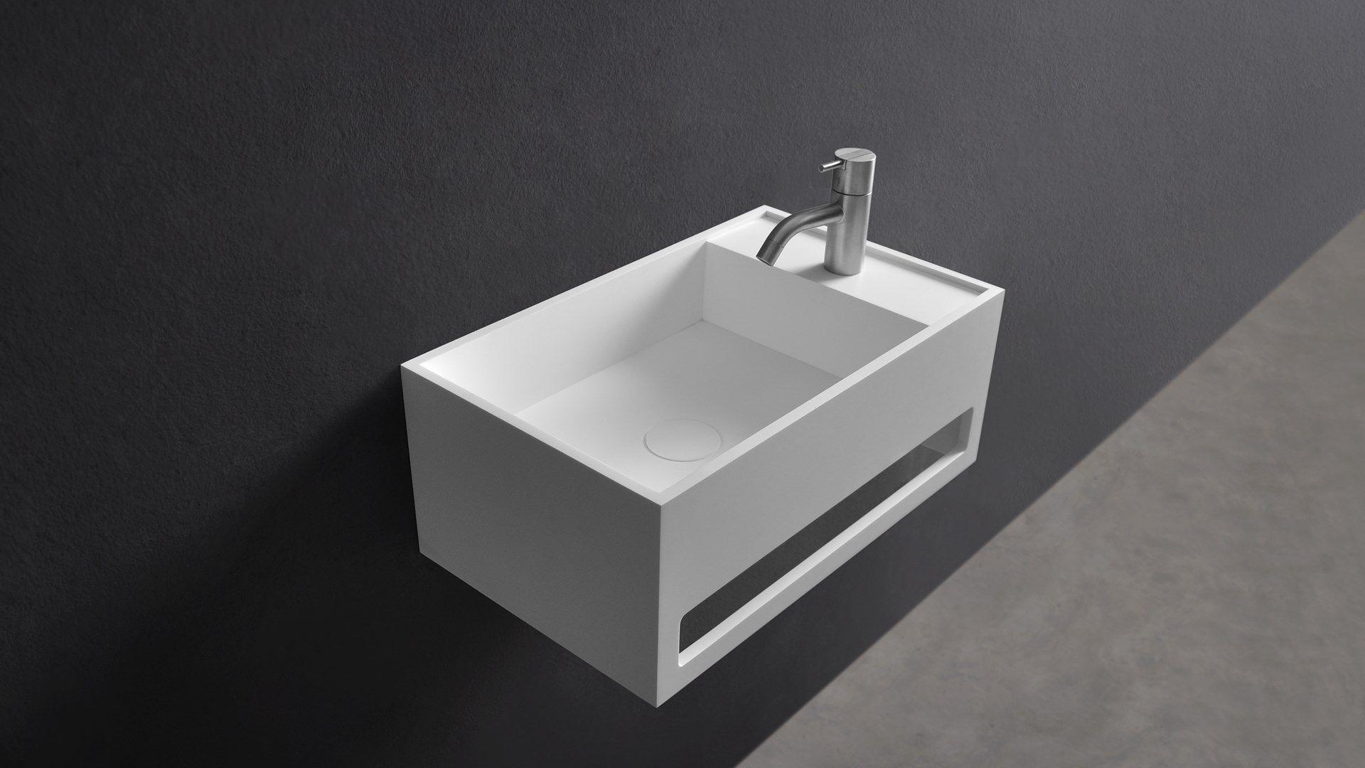 Solid Surface Badkamer : Badkamer wastafel kopen ladekast badkamer cool ladekast mat wit