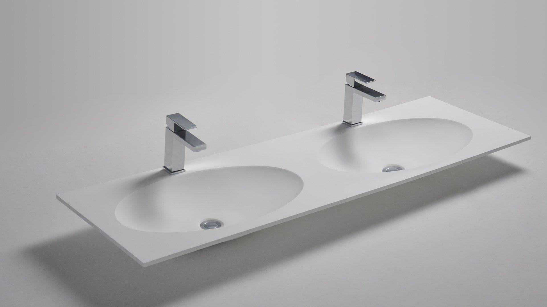 Natuurstenen wastafel van topkwaliteit badkamerwarenhuis