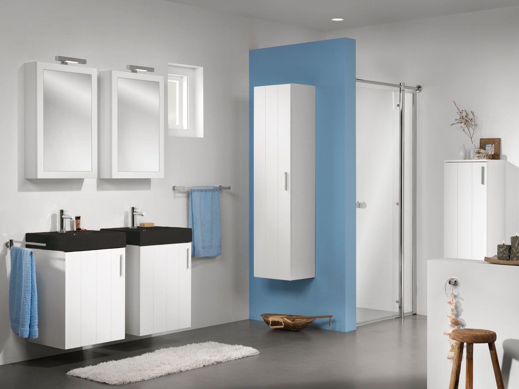 Spiegelkast badkamer klassiek blinq ace badmeubel set cm