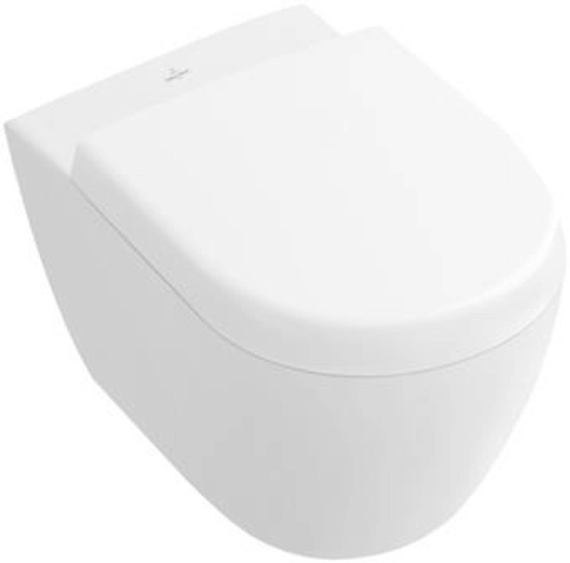 Korte Toiletpot Villeroy Boch Subway 2 Wandcloset Direct Flush Verkort Ceramicplus Wit