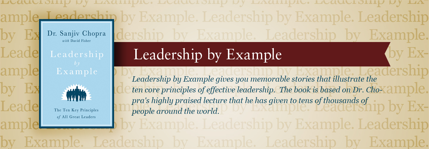 Leadership by Example - A Book By Dr Sanjiv Chopra