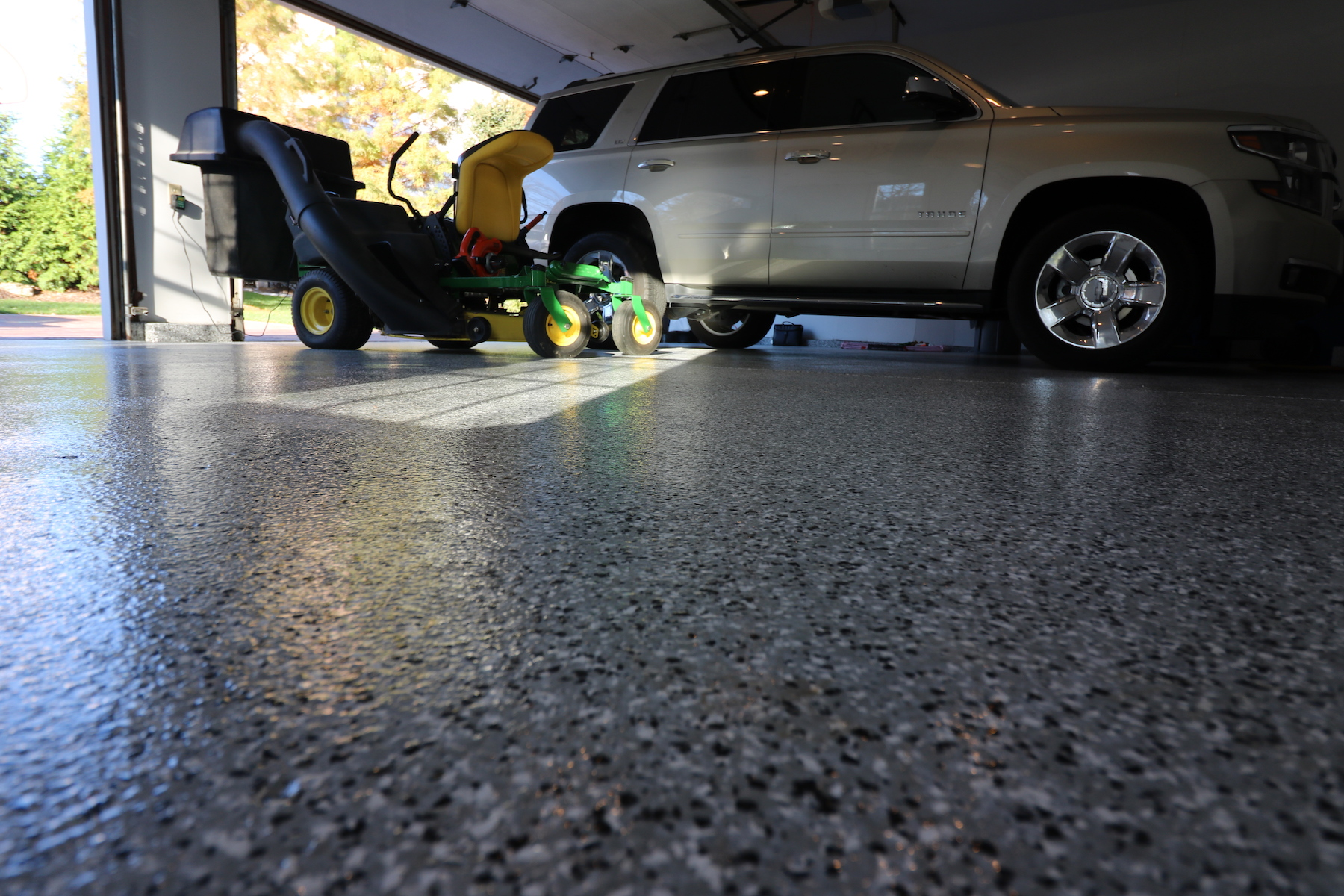 Garage Floor Coating Nashville San Jose Concrete Resurfacing Stamped Epoxy Staining