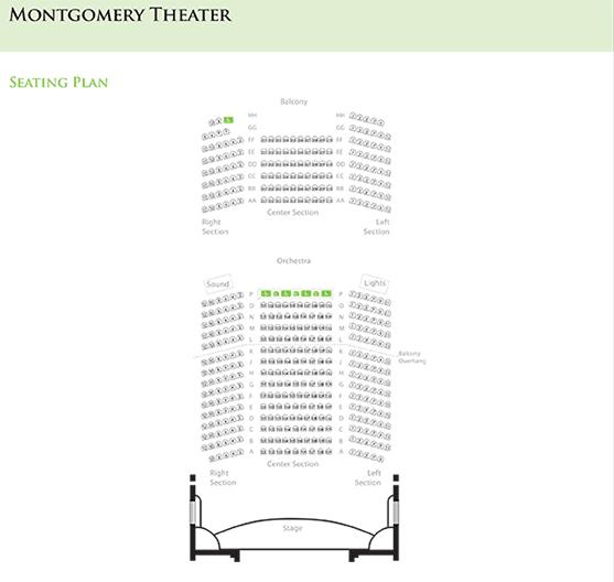 Seating Charts - San Jose Theaters