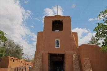 San Miguel Church Outside