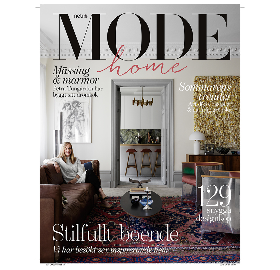 Home Magasin Metro Mode Home Glossy Magasin Sanna Fischer Metro Mode