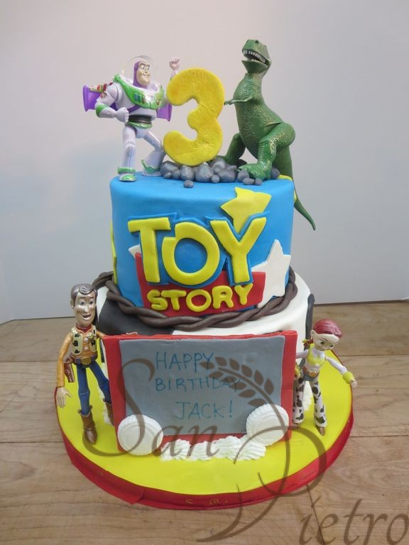 toy story cake template