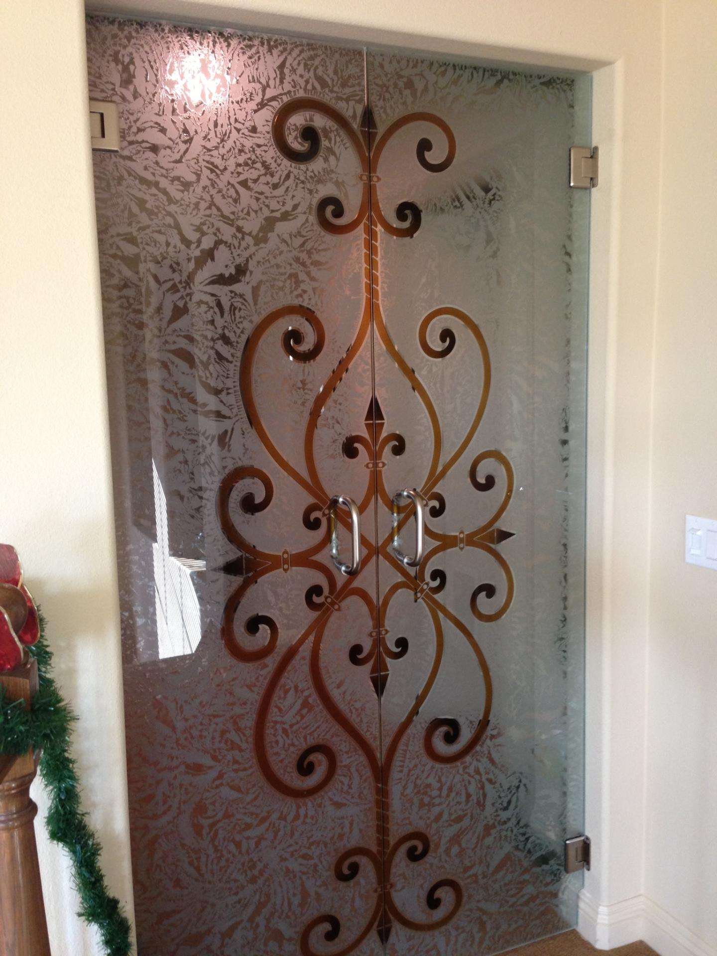 Door Designs With Glass Just Added Frameless Glass Doors In Our Home Sans