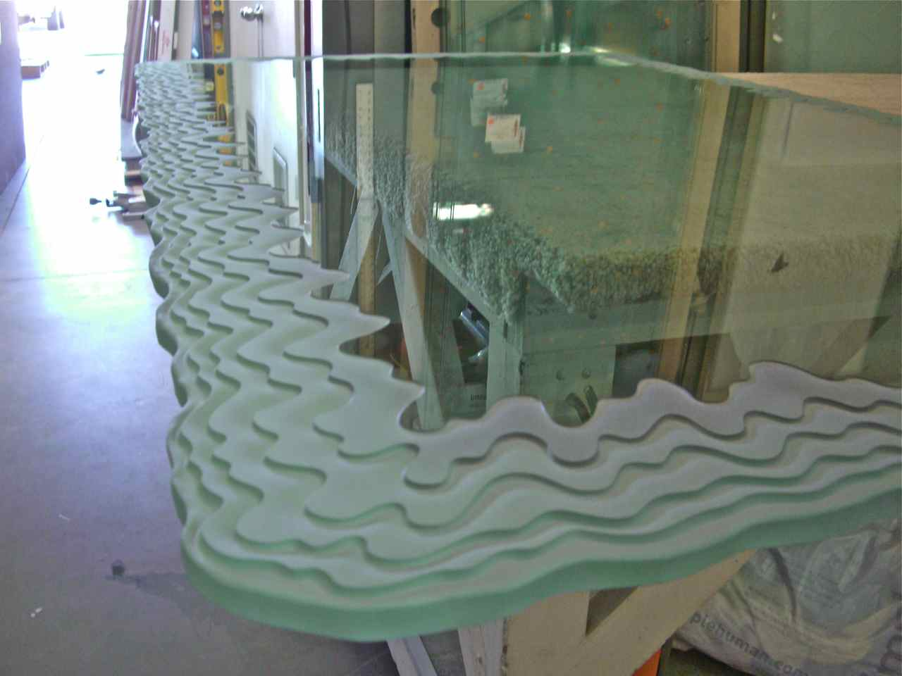 Custom Glass Custom Glass Table Tops Sans Soucie Art Glass