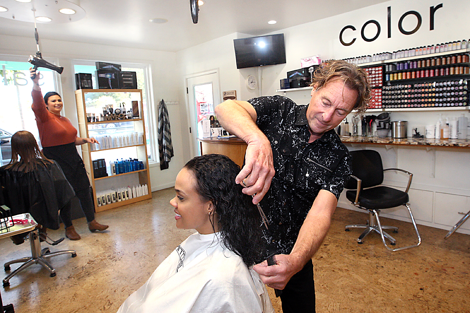 Salon Inspiration David Adams Salon Finds Inspiration Outside The Workplace Santa