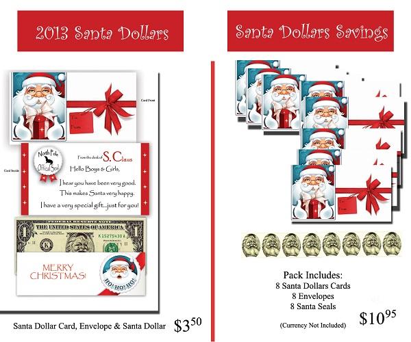 2013 Card - Santa Dollars