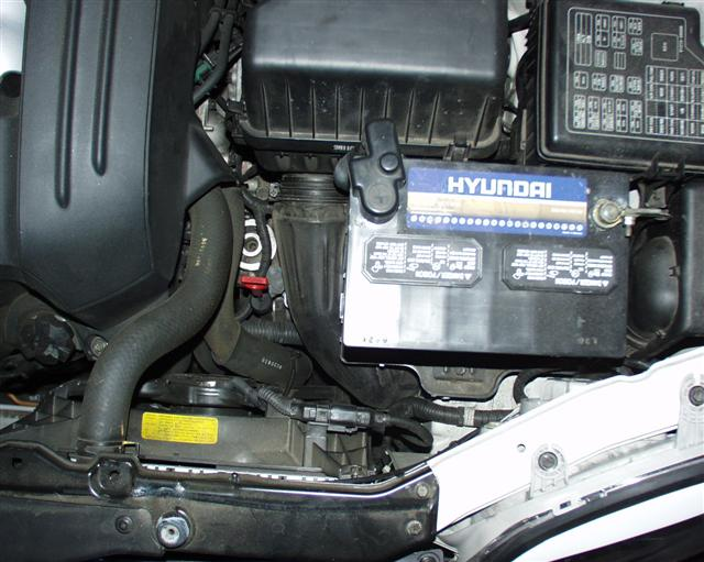 Hyundai Santa Fe Spark Plug replacement on a V6 Cyl