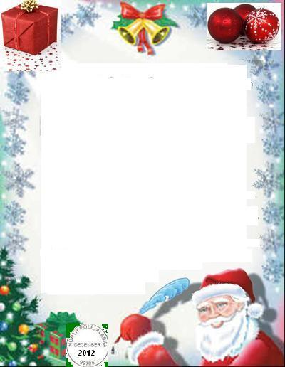 Write \ Email Santa Claus, Free Letters from Santa Claus, Free - christmas list format