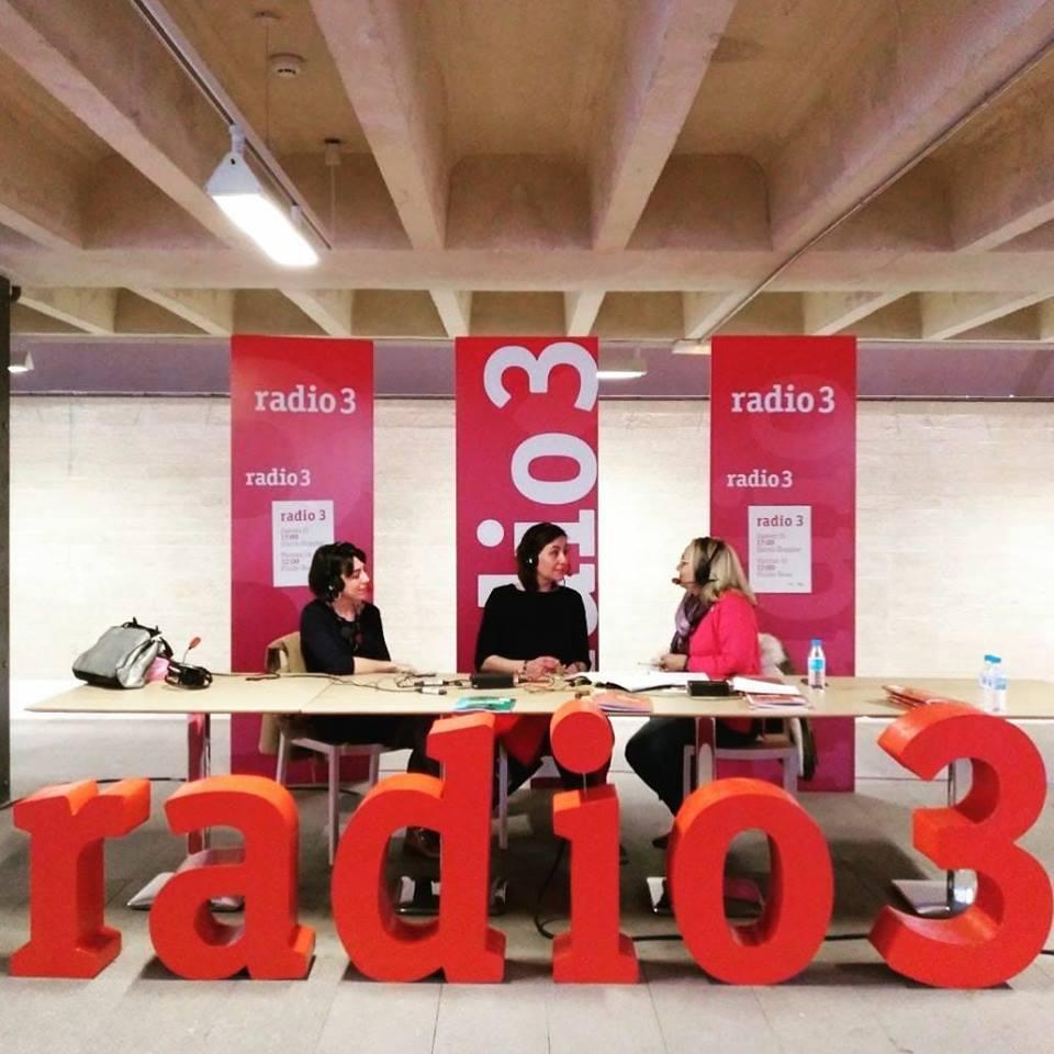 Andrea-Santamarina-Studio-Radio3-FluidoRosa-Caotics-Marta-Valea-Verónica-Mar