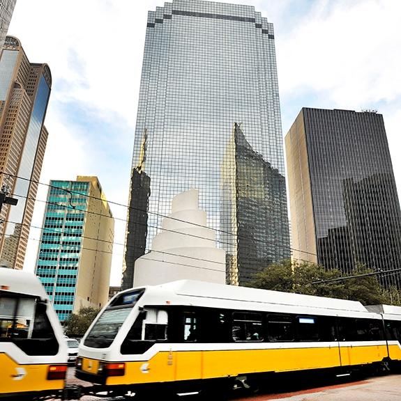 Downtown Dallas, Thanksgiving Tower new home of Santander Consumer