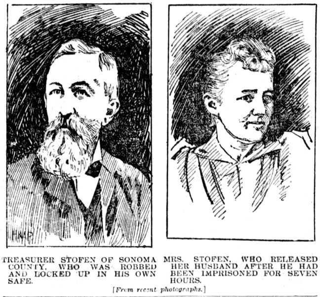 Mr. and Mrs. Stofen, San Francisco Examiner, December 30 1894