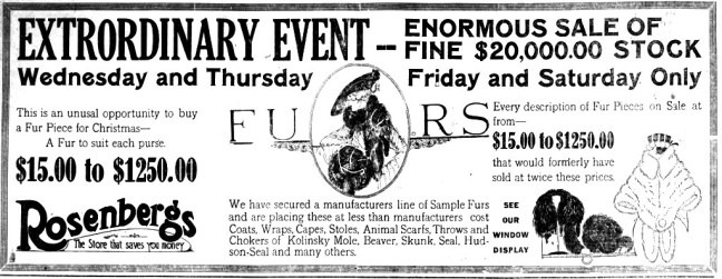 Bulletins about the murders, riot and lynchings resulted in both Santa Rosa newspapers selling an unprecedented number of copies at the start of the 1920 Christmas shopping season
