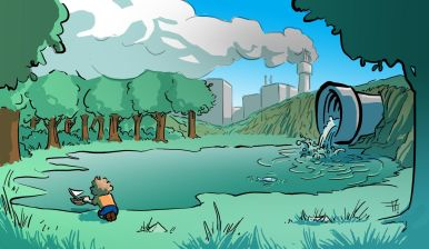 Pollutions environnementales enfants santé