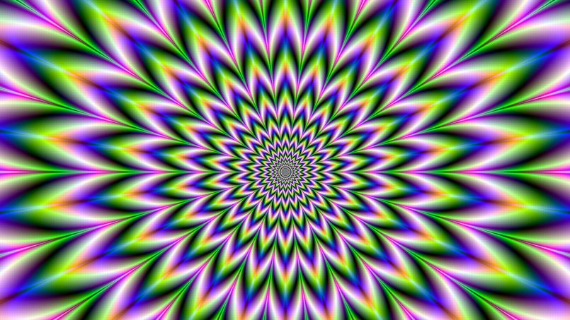 Optical Illusion Wallpaper Hd Pin Illusion D Optique Nictoo Ce Qui Bouge On Pinterest