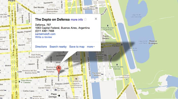 Depto Location