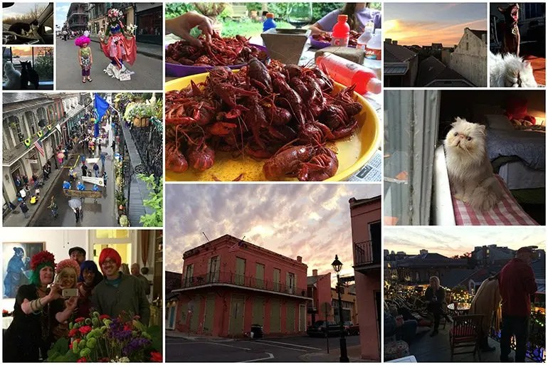 New Orleans Collage