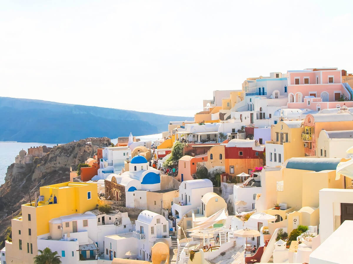 Tourism Destinations Santorini The World S Top Tourism Destinations