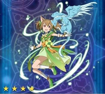 【そよ風の猫妖精】シリカ