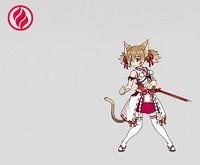 【火狐の巫女装束】シリカ