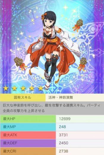 【麗しの巫女装束】直葉