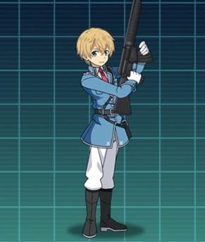 【荒野に立つ誠実な銃士】ユージオ