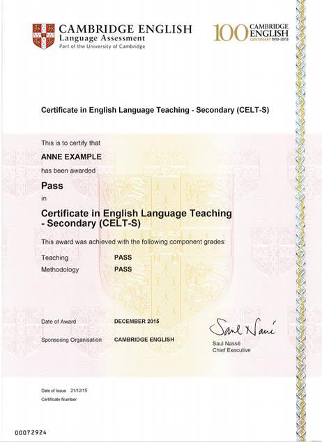modelo-certificado - São Paulo Open Centre - Exames Cambridge English