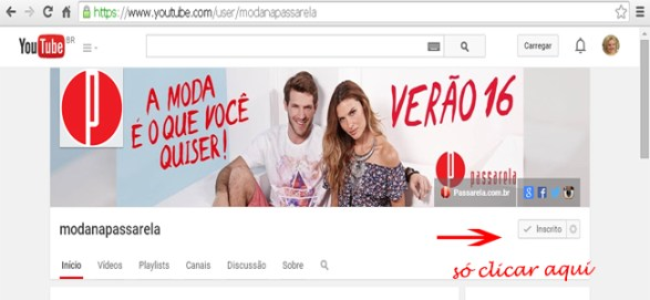 youtube-passarela