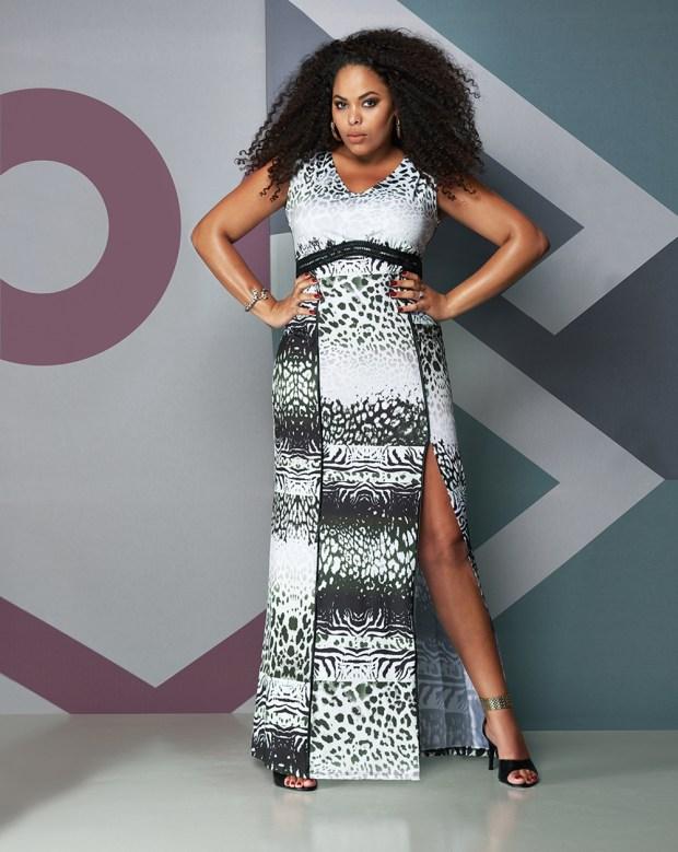Elegance Plus Size_sexy fendas_modelo Rita Carreira