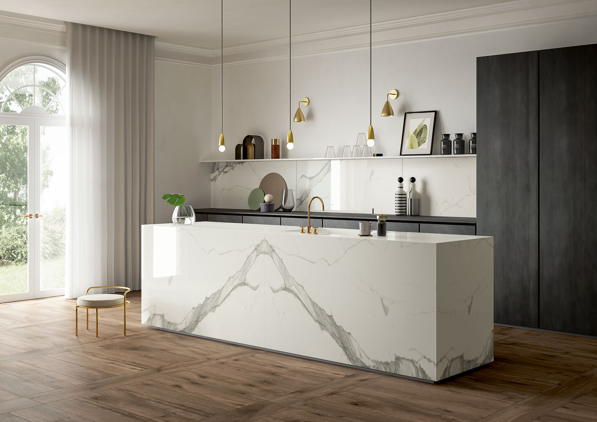 Let Be Inspired By Sapienstone Kitchen Countertops Gallery