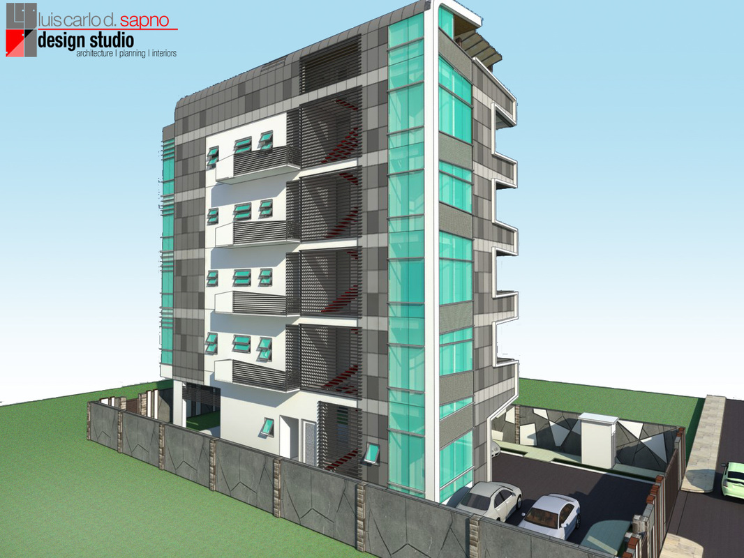 Architectural Design Of Residential Building A Proposed Architectural Design Of A Five Storey Residential
