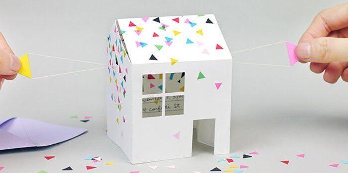 Invitaciones caseras y bonitas para fiestas infantiles Ideas para - plantillas para invitaciones gratis