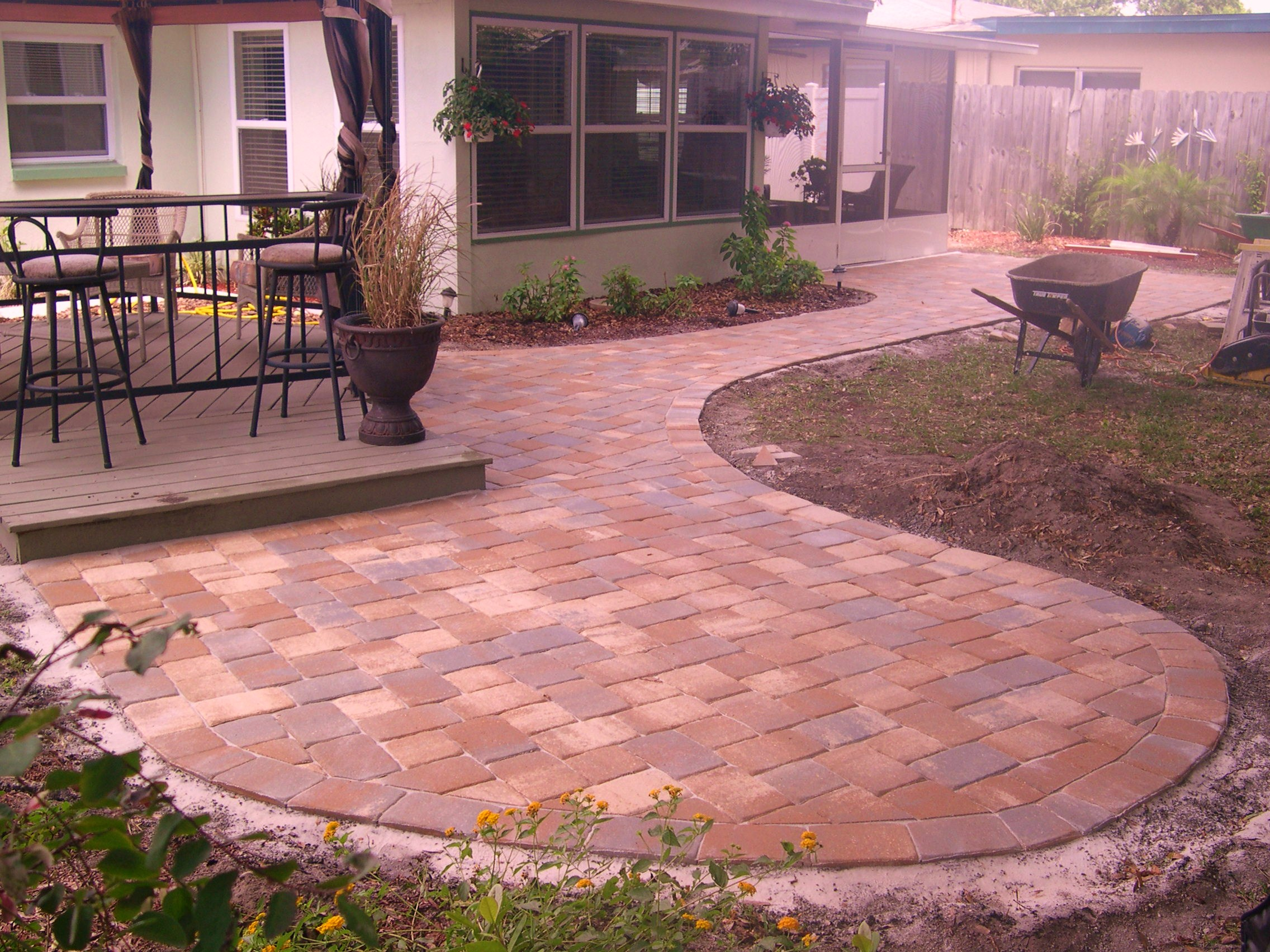 pavers ideas patio for your bungalow pavers ideas patio new interior