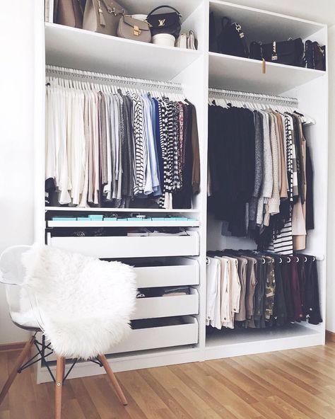 IKEA PAX Kleiderschrank kombinationen \ Inspirationen - Sara Bow - ankleidezimmer
